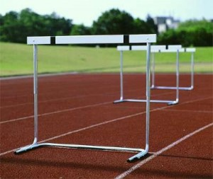 This image shows hurdles, depicting the hurdles represented by innovation barriers