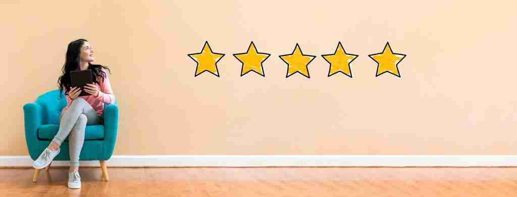 Customer Centric strategy leading to a 5 star rating